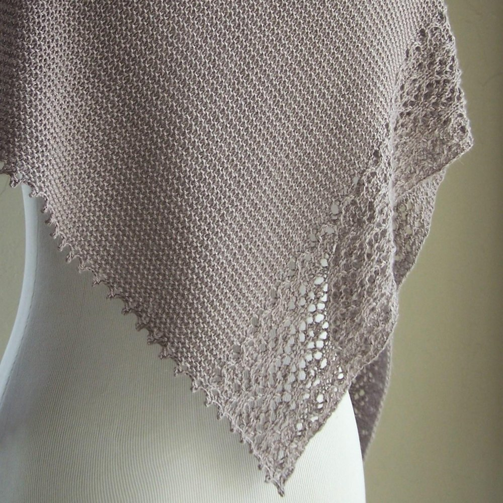 Lavande grise knitting pattern by melanie rice for Chenille grise