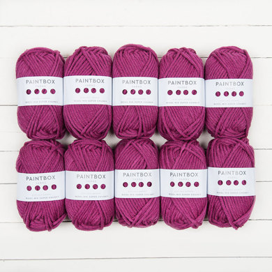 Paintbox Yarns Wool Mix Super Chunky 10 Ball Value Pack