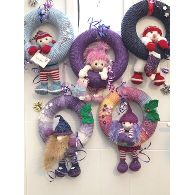 Seasonal Character Wreaths