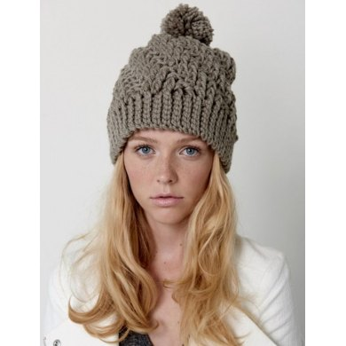 Stepping Texture Hat in Bernat Softee Chunky