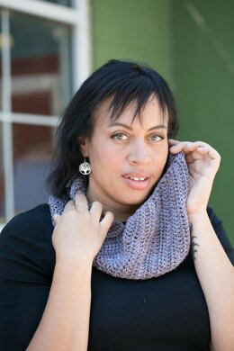 Ruched cowl