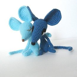 Sharp-Nosed Mice Amigurumi Pattern