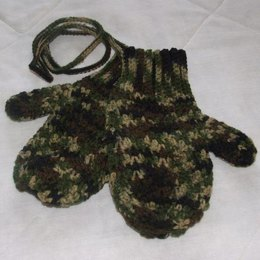 Men's Mitts on a String