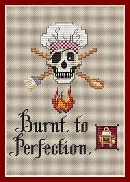 Sue Hillis Designs Burnt to Perfection (3/pkg) - PS157 - Leaflet