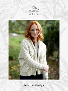 Catherine Cardigan in Willow & Lark Ramble