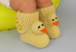 FREE Baby Chick Boots Booties