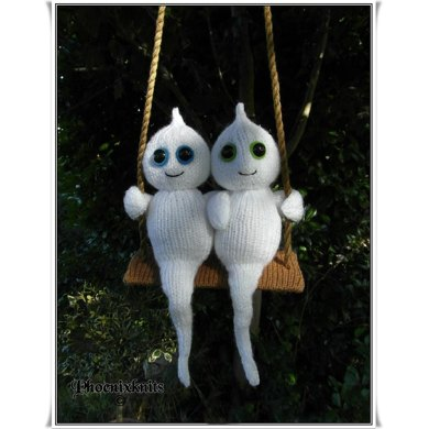 Swinging together forever ghosties