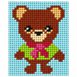 Orchidea Tapestry Kit: My First Bear - 17 x 20.5cm