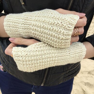 White sand no digit mitts 5 sizes