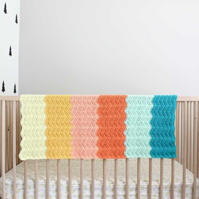 Warm Welcome Baby Blanket