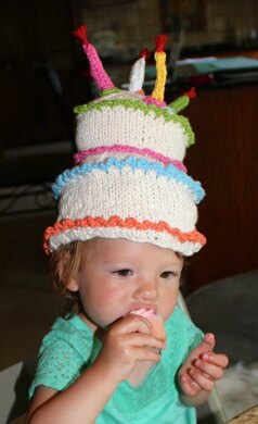 Happy Birthday Cake Hat