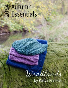 Autumn Essentials 2014: Woodlands Collection (3 patterns)