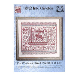 Ink Circles Modestly - Sized Red Ship of Life - NKS41 -  Leaflet