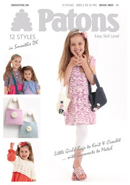 Girls Bags Book by Patons - 3805