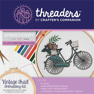 Crafter's Companion Vintage Trail Embroider Kit