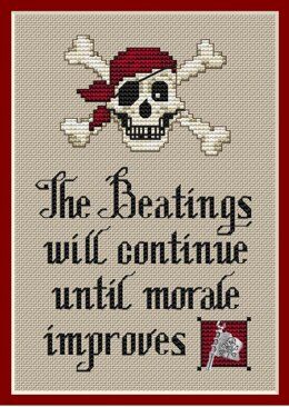 Sue Hillis Designs Pirate's Creed (3/Pkg) - PS142 - Leaflet