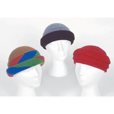 """Tube"" Hats to Knit"