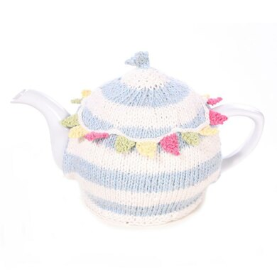Summer Bunting Tea Cosy and Bunting