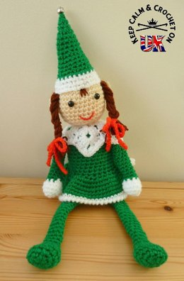 Mrs Christmas Shelf Elf