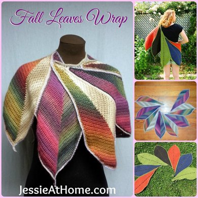 Fall Leaves Wrap ~  CGOA Design Competition Winner