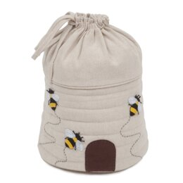 Groves Bumble Bee Hive Drawstring Bag