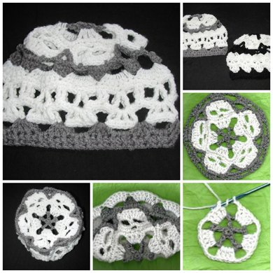 Creepy Skull Mandala Hat Crochet Pattern By Spider Mambo Crochet