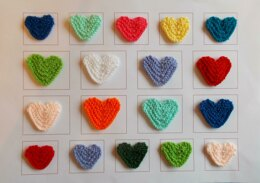 Marianna's Little Knitted Hearts