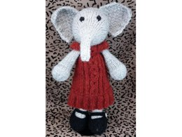 Elephant with Dress and Shoes