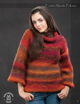 Earth's Mantle Pullover in Wisdom Yarn Poems - Downloadable PDF