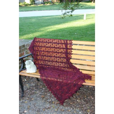 Cherry Country Shawl