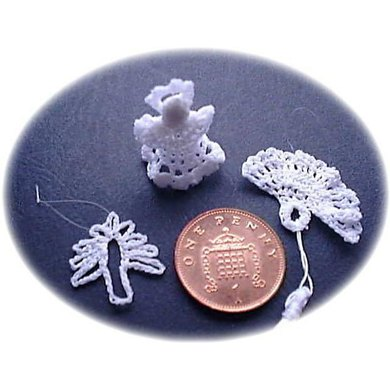 1:12th scale Christmas decorations - Set 1