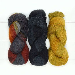 Fleece Artist Merino Slim 3 Ball Color Pack