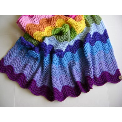 Knitting In Technicolor Waves Knitting Pattern By Creative Designs