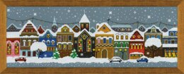 Riolis Christmas City Cross Stitch Kit