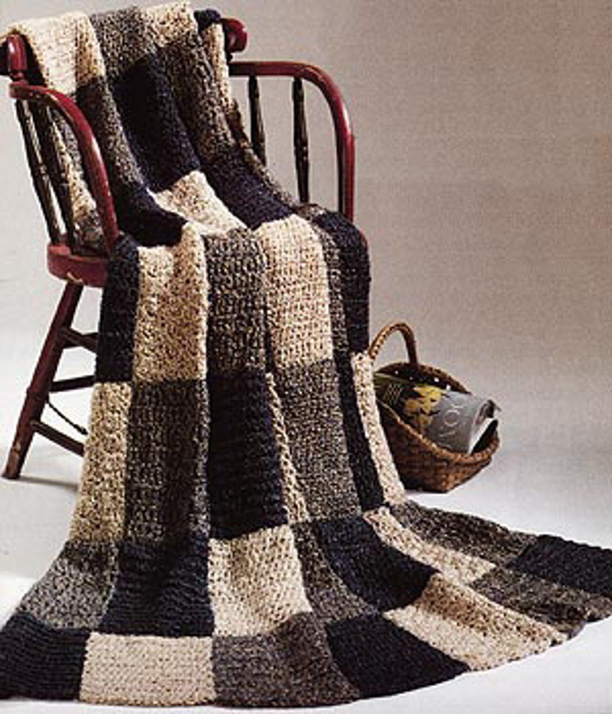 Warm Up America Afghan In Lion Brand Homespun Crochet Patterns