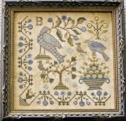 Blackbird Designs It's Spring Fever - Loose Feathers Series - For the Birds - BD291 - Leaflet