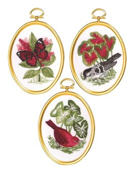 Janlynn Natures Glory Embroidery Kit - 3 x 4 inch