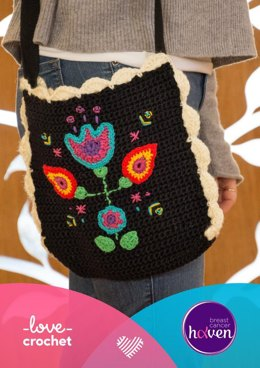 Folky Flower Drain Bag by Emma Friedlander-Collins