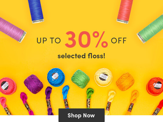 Up to 30 percent off floss!