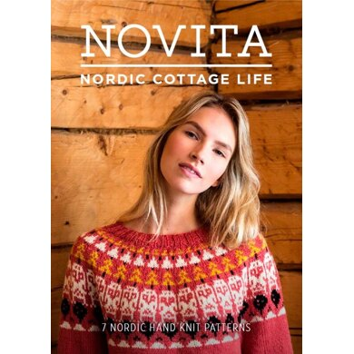 Nordic Cottage Life Knitting and Crochet Pattern Book by Novita