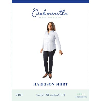 Cashmerette Harrison Shirt 2101 - Sewing Pattern