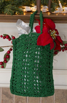 Nick of Time Gift Bag in Red Heart Holiday - LW3199EN - Downloadable PDF