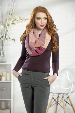 Tulip Fields Cowl in Premier Yarns DK Colours - Downloadable PDF