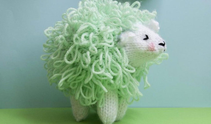 Alena the Mint Green Sheep by Louise Walker
