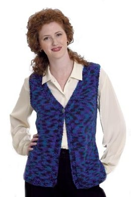 Vest In-a-Jiffy in Lion Brand Jiffy - 20064