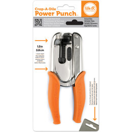 We R Memory Keepers Crop-A-Dile Euro Hook Power Punch - 030940