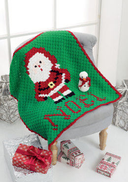 Blanket & Snowman Amigurumi in King Cole - 5117 - Leaflet