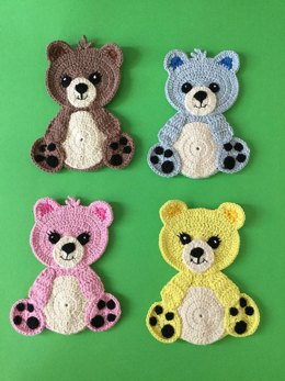 Teddy Bear Appliqué