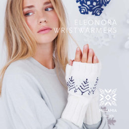 Eleonora Wristwarmers in MillaMia Naturally Soft Merino