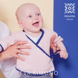 Eva Kimono in MillaMia Naturally Soft Cotton - Downloadable PDF